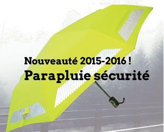 Parapluies Raintop sécurité